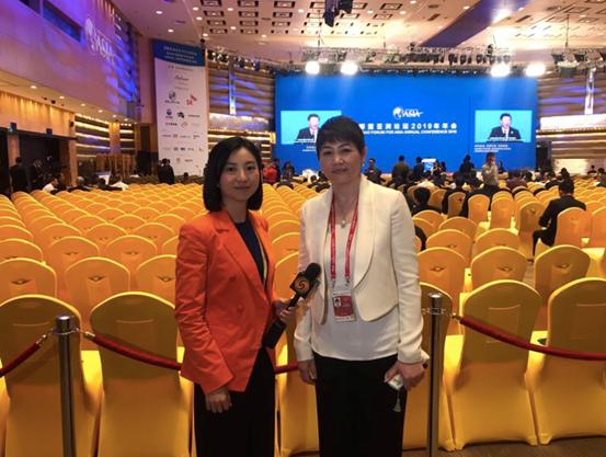 侨外集团董事长丁颖出席2019博鳌亚洲论坛开幕大会